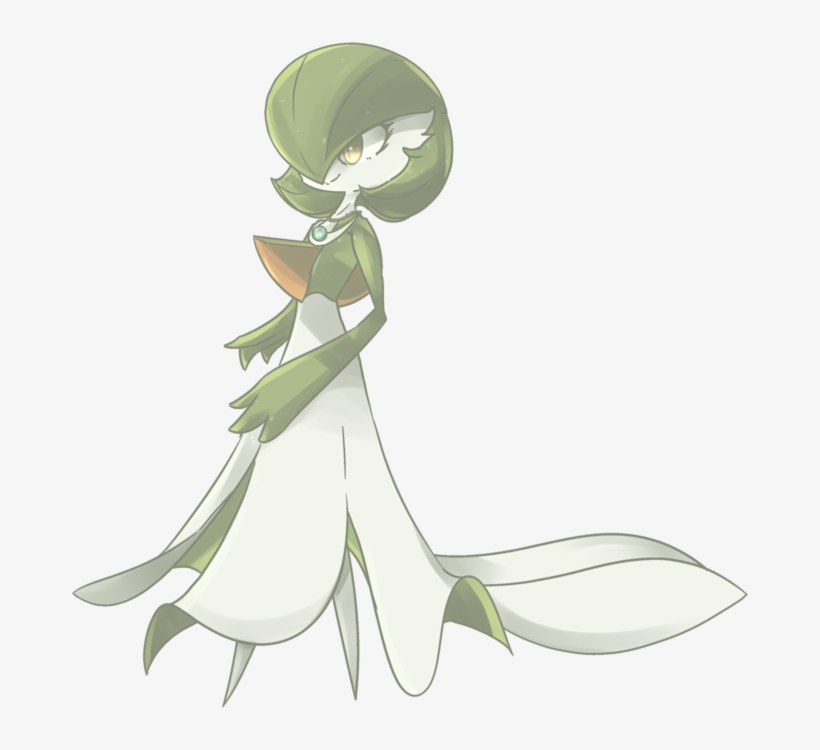 Flower Plant Flora Fictional Character - Gardevoir Transparent ...