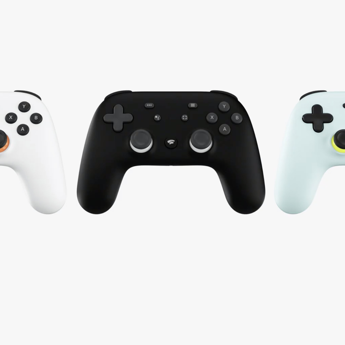 Here is Google's controller for its Stadia game-streaming service ...