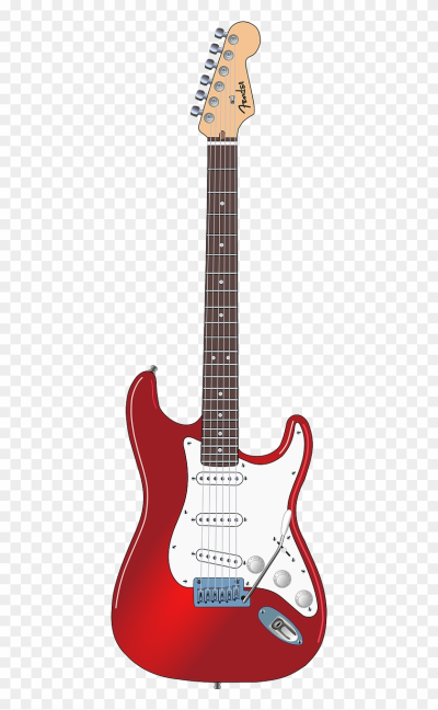 Guitar Electric String - Fender Stratocaster Png, Transparent Png ...