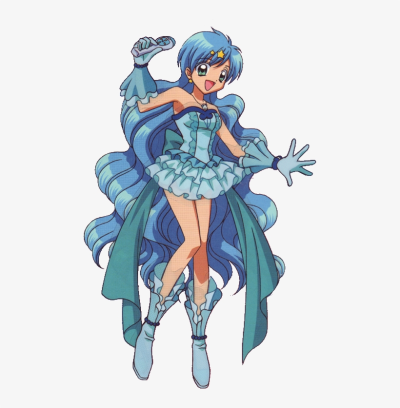 7254236 - >> - Mermaid Melody Hanon Transparent PNG - 477x757 ...