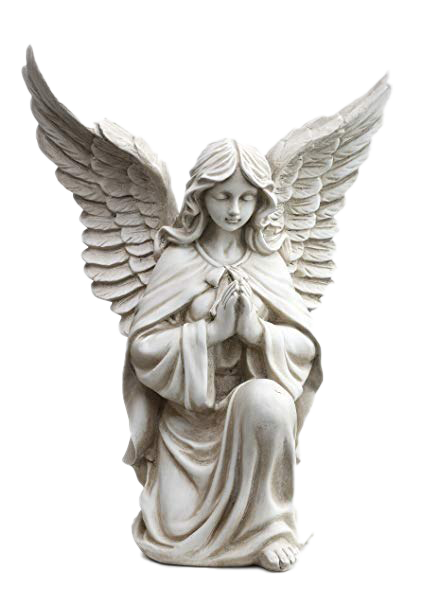 Angel Praying Kneeling PNG
