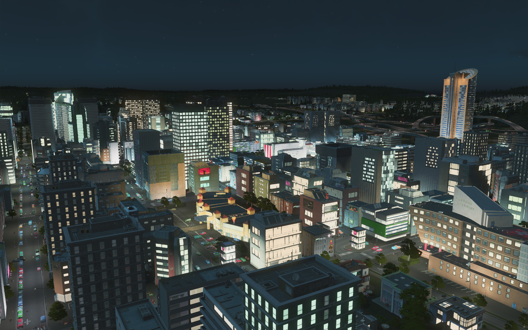 Cities: Skylines - After Dark - Dev Diary 1: Night Time, what is ...