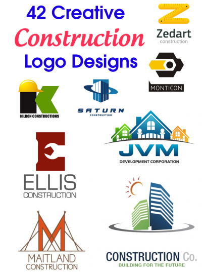42 Creative Construction Logo Designs | Logo evolution | Logos ...