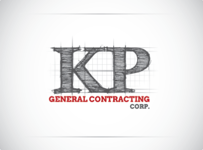 KP Construction Logo Design By LogoTod | Logo Designs ...
