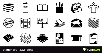 Stationery +320 free icons (SVG, EPS, PSD, PNG files) - Page 7