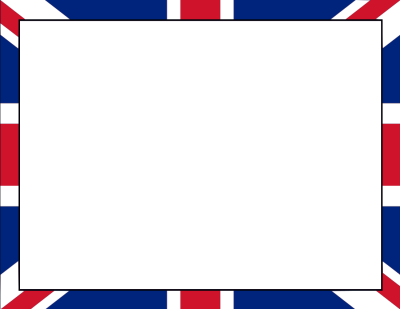 British Flag border - /page_frames/more_frames/British_Flag_border ...