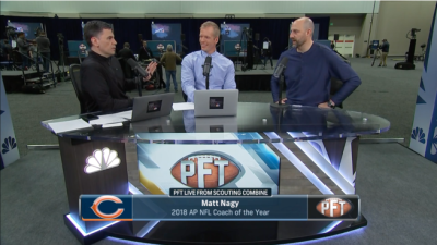 Matt Nagy talks about his first year as a NFL head coach with ...