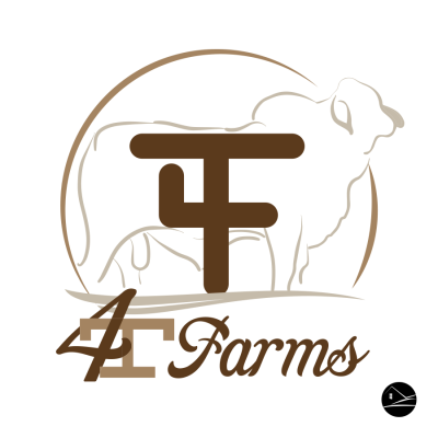 4T Farms logo design by Ranch House Designs. | RHD | Farm logo ...