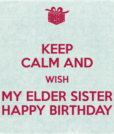 Birthday Wishes For Elder Sister - Page 2 | Happy BirthDay ...