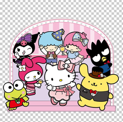 Hello Kitty My Melody Sanrio Character San-X PNG, Clipart ...