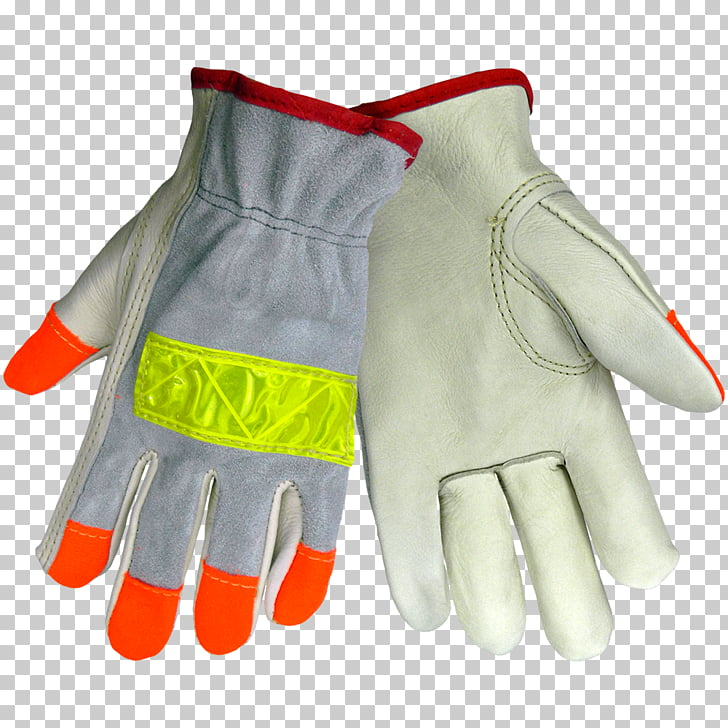 High-visibility clothing Glove Leather International Safety ...