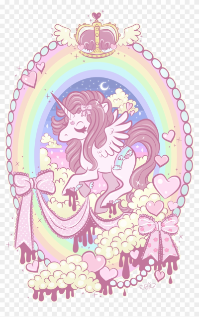 I M Unicorn As You Wish Wallpaper Wp3806503 - Pastel Unicorn, HD ...