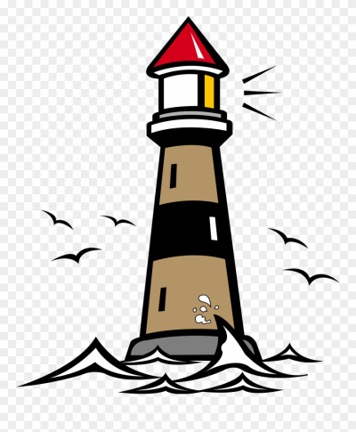 More From My Site - Lighthouse Clipart - Png Download (#126609 ...