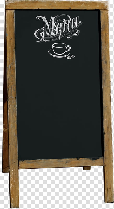 Empty Menu chalkboard transparent background PNG clipart | HiClipart