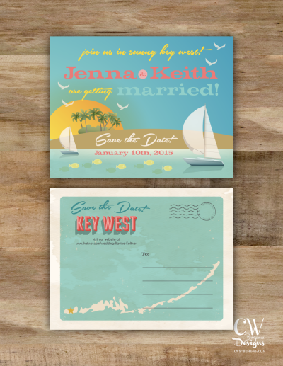CW Designs | Custom Wedding Maps | Invitations | Save the Dates ...