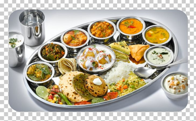 Vegetarian Cuisine Buffet Indian Cuisine Thali Restaurant PNG ...