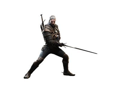 The Witcher Game PNG Image HD