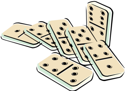 Dominoes Game PNG File