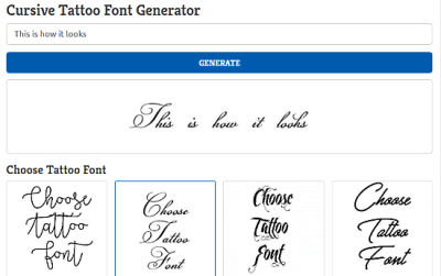 10 Free Cursive Text Generator Websites
