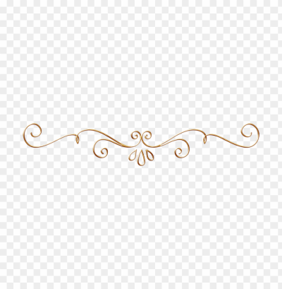 gold fancy line designs PNG image with transparent background | TOPpng