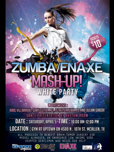 ZUMBA/ENAXE MASH-UP! | 23 Flyer Designs for a business in United ...