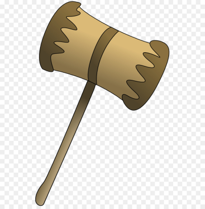 Mallet Gavel Hammer Clip art - Cartoon Hammers png download - 600 ...