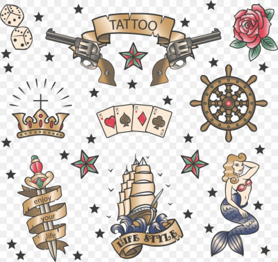 Old School (tattoo) Sailor Tattoos, PNG, 1512x1425px, Tattoo, Art ...