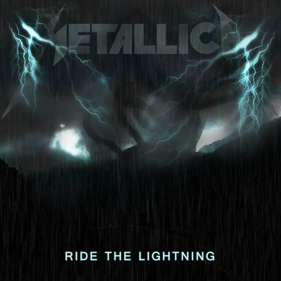 Metallica's Ride The Lightning Fanmade Alternate Cover Art #2 by ...