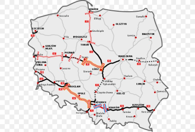 Highways In Poland Toll Road Controlled-access Highway, PNG ...