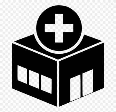 Health Vector Png - Hospital Icon Vector Png Clipart (#3857724 ...