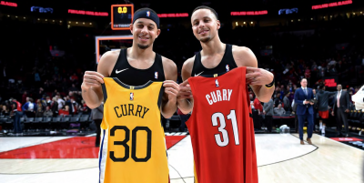 NBA Twitter Was Ripping Stephen Curry As His Brother Seth Caught ...