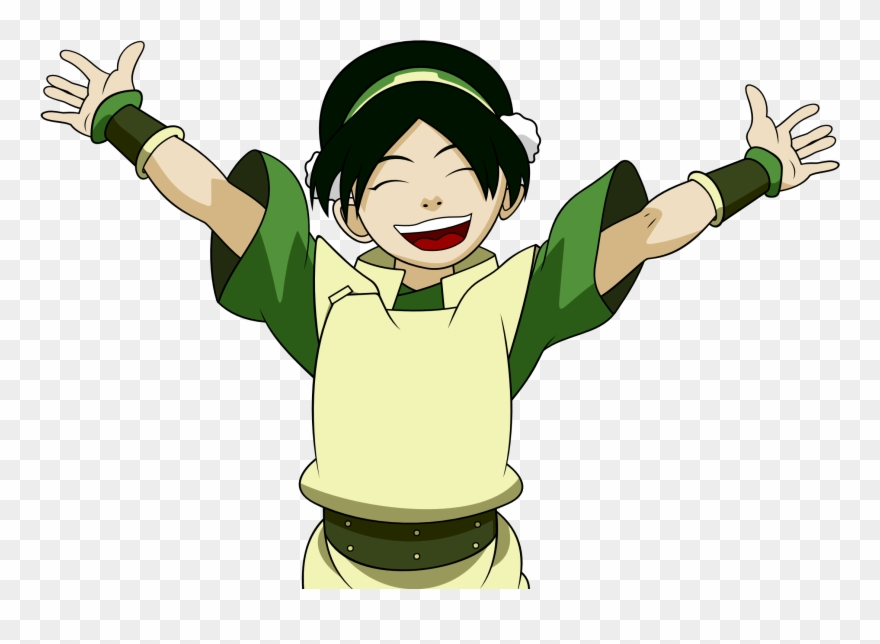 Aang Clipart Vector - Avatar Toph Png Transparent Png (#4896075 ...