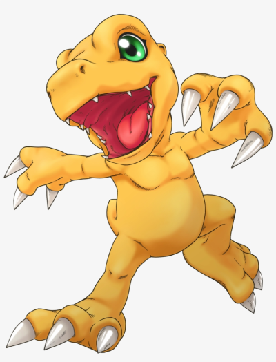 Agumon As He Appears From Digimon Cyber Sleuth - Digimon Cyber ...