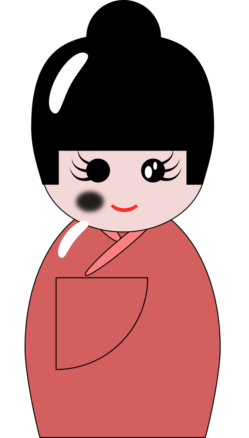 Japanese Doll Image Free Photo PNG