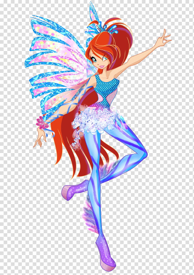 Bloom Sirenix transparent background PNG clipart | HiClipart