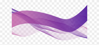 Abstract Purple Wavy Shapes - Transparent Abstract Shapes Png, Png ...