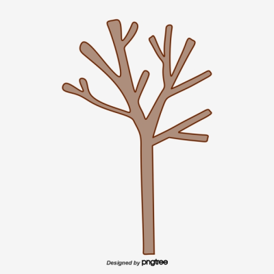 Cartoon Abstract Twigs, Cartoon, Small Trees, Abstract PNG ...