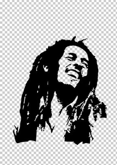Bob Marley Wall Decal Sticker Drawing PNG, Clipart, Art, Black ...