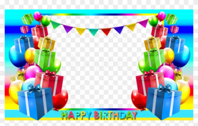 Free Png Happy Birthday Png Blue Photo Frame Background - Frame ...