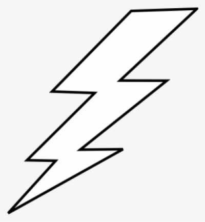 White Lightning Bolt PNG, Transparent White Lightning Bolt PNG ...
