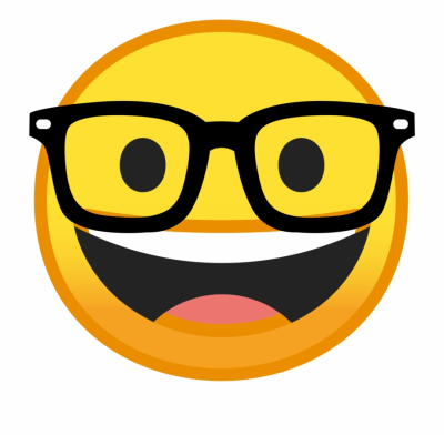Sunglasses Emoji Png Transparent Photo - Nerd Smiley Face - emojis ...