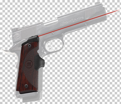 Crimson Trace M1911 pistol Firearm Sight, shooting traces PNG ...