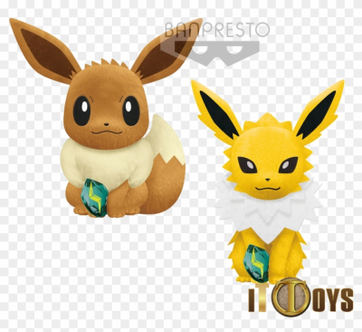 Pokemon Focus Big Plush - Jolteon Banpresto Plush 2019, HD Png ...