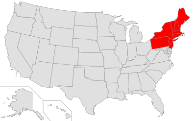 File:Map of USA highlighting Northeast.png - Wikimedia Commons