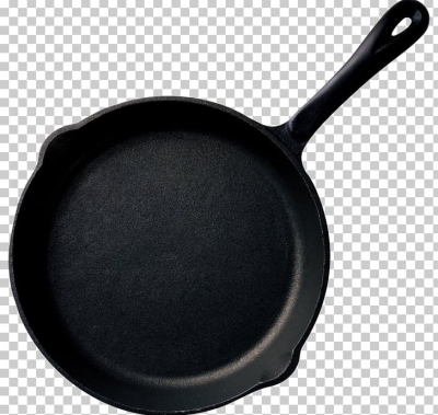 Frying Pan Cast-iron Cookware Non-stick Surface Wok PNG, Clipart ...