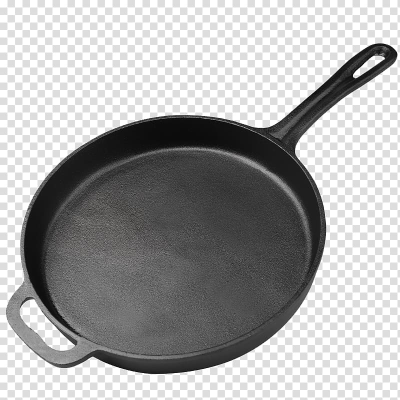 Frying pan Cast iron Cast-iron cookware Cookware and bakeware ...