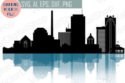 Birmingham SVG, Alabama City Vector Skyline USA city, SVG, JPG ...