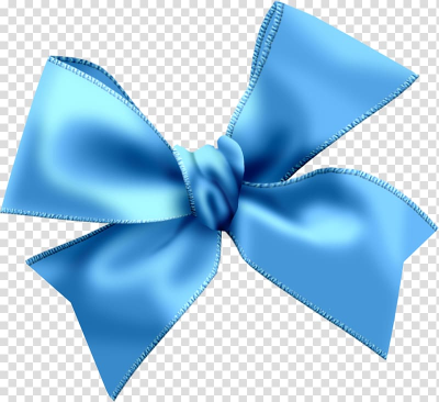 Blue ribbon bow , Light blue , Sky Blue Bow transparent background ...