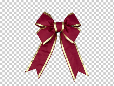 Burgundy Red Christmas Day Christmas decoration Ribbon, Golden bow ...