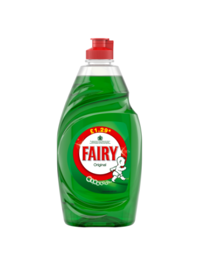 Fairy Original Washing Up Liquid 433ml PMP • Doorstep Pharmacy